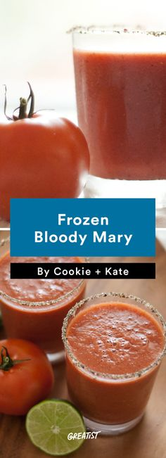 6. Frozen Bloody Mary #Greatist http://greatist.com/eat/bloody-mary-recipes