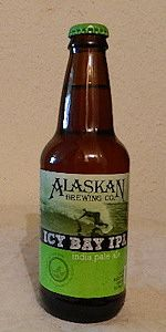 Alaskan Icy Bay IPA.  A very sharp almost bitter IPA.  Better to start with lighter IPAs and work your way up to this one. 6