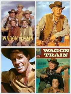 Wagon Train TV show 1957-1965. Ward Bond was the wagon master.