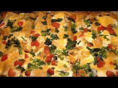 Easy Cheesy Sour Cream Chicken Enchiladas Recipe: How To Make Homemade C...