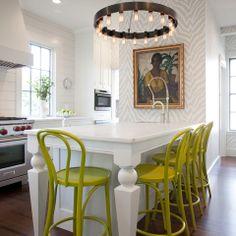 New England Design Works Showroom- Design by Karen Swanson. Using Thibaut wallpaper!