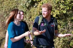 Prince Harry joined the 'Walk of Britain' 1,000-mile trek, but he only had to trek 17 miles on Wednesday.