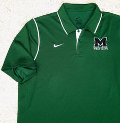 Nike Dri-Fit M-WRESTLING POLO T-SHIRT Golf Dry MENS XL Loose-Fit (see size info) #Nike #ShirtsTops