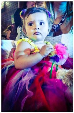 Rainbow dress  for joelle 1 birthday