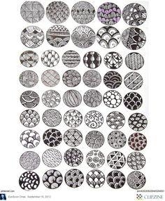 Zentangle+Patterns+for+Beginners | Zentangle Patterns