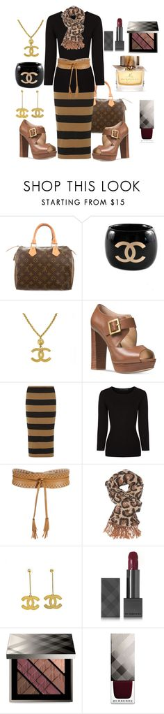 """""""My casual girl"""" by ellenfischerbeauty ❤ liked on Polyvore featuring Louis Vuitton, Chanel, Michael Kors, mel, Alexander Wang, BCBGMAXAZRIA, Charlotte Russe and Burberry"""