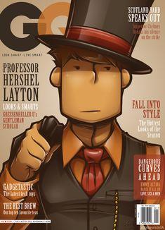 Gentleman Quarterly by zillabean