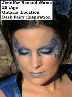 "FAIRY MAKEUP | Fairy makeup | Costume Ideas  (possibility for Mira's costume - ""Dark Fairy"")"