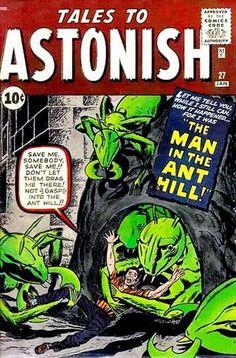 Tales To Astonish 27 silver age marvel comics group Valuable Comic Books, Rare Comic Books, Vintage Comic Books, Comic Book Covers, Vintage Comics, Comic Books Art, Book Art, Vintage Art, Ant Man Avengers