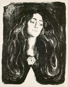 #art: Eva Mudocci, amante e musa ispiratrice di #Munch... pic.twitter.com/U09xqQOCBR