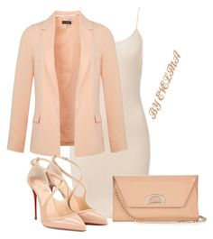 """""""EVE"""" by evelina-er on Polyvore featuring Miss Selfridge and Christian Louboutin"""