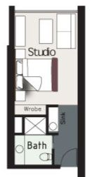 small powder room floor plans heres what it looked like on small laundry room floor plans id=60155