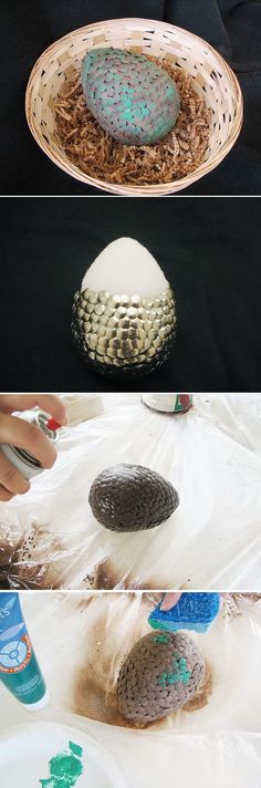 Game of Thrones Inspired Dragon Egg
