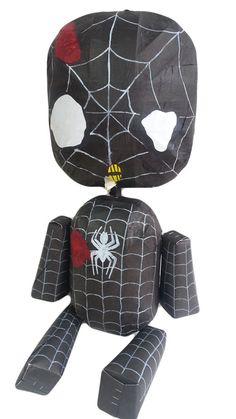 ¡¿Zombie Black Spider Man Puppet Pinata?! Yes thats right! your eyes ARE functioning correctly!  The only Pinatas with movable limbs! Way more fun and realistic when you hit them! Limbs are all movable, enhancing the pinata bashing experience in a unique and fun way! We are Third Generation Pinata makers who have modernized the traditional form of pinatas in a way that has never been seen before. Order now for a pinata that will make your party a true hit! Item Details: -Made to Order -All…