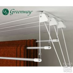 Greenway 3-Rod Laundry Lift - Greenway Home Products GCL3LL - Laundry Aids - Camping World