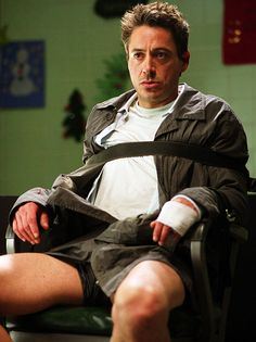 Harry Lockhart, Kiss Kiss Bang Bang. See more TV/movie criminals who cashed in:  http://www.ew.com/ew/gallery/0,,20851600,00.html