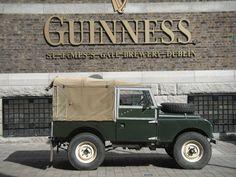 Outside a popular brewery in Dublin...