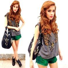 Espaço Fashion Top, Farm Shorts, Givenchy Purse
