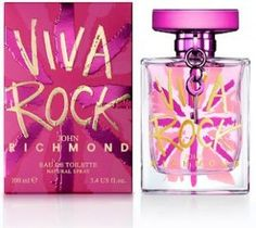 XX For Rock Divas: Viva Rock, the new perfume by John Richmond, Swiss launch March 2012. Cute packaging!