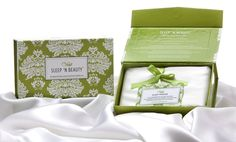 Review & Giveaway – 100% Mulberry Silk Pillowcase by Sleep 'n Beauty  Omgosh I want/need 1 of these for antiaging so much!