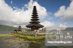 Pura Ulun Danu temple at Bratan lake, Bali, Indonesia