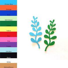 Die corte 25 pack papel forma de alga marina alga marina
