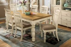 Suitable Country Dining Room Design