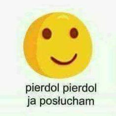 Ja poslucham Sweet Memes, Cute Memes, Funny Emoji, Wtf Funny, Meme Generation, Funny Images, Funny Pictures, Polish Memes, Weekend Humor