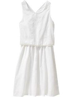 Girls Clip-Dot Dresses / ON / L