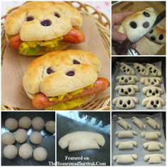 Creative Hot Dog Bun Recipe -  Kid Friendly - The Homestead Survival - Homesteading - Cooking