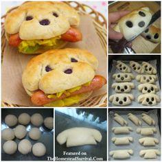 Creative Hot Dog Bun Recipe - Kid Friendly - The Homestead Survival - Homesteading - Cooking