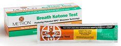 Disposable Breath Ketone Test - Ketosis Analyzer for Fat ...