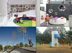 The Cool Hunter - Reinventing Kids' Spaces/Playgrounds