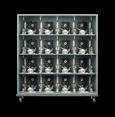 vertical pattern square grey I   Hervé Graumann