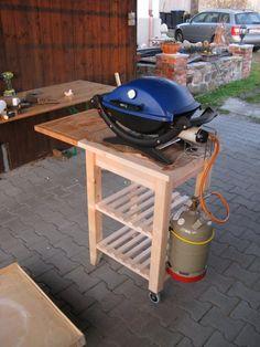 Ikeahack Grilltisch aus Beckväm Bauanleitung zum selber bauen