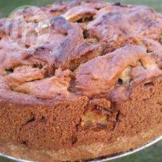 Appeltaart met karamelsaus @ allrecipes.nl