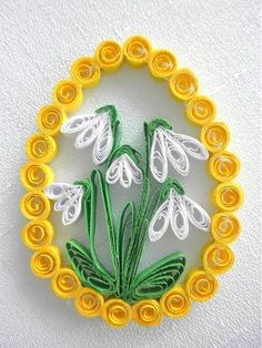 19 Quick Paper Quilling Ideas For Beginners – Quilling Techniques Quilling Images, Paper Quilling Flowers, Paper Quilling Cards, Paper Quilling Patterns, Quilled Paper Art, Quilling Paper Craft, Diy Paper, Quilling Instructions, Quilling Tutorial