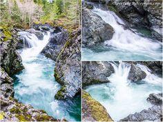 Waterfalls in Cowichan Lake, B.C.  AperturePerception.com