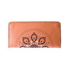 Leather Zip Around Wallet - Presence by VIDA VIDA qLA2a