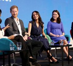 28/02-2018 Meghan Markle made her official debut alongside fiancé Prince Harry and future in-laws the Duke and Duchess of Cambridge in their first public engagement as a foursome on Wednesday. The American actress and the royals set out their charitable vision for the future as they spoke about their Royal Foundation and how it has developed over the years. The event was themed 'Making a Difference Together'