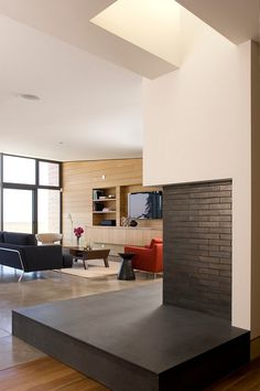 Concrete and wood floors   | Usual House