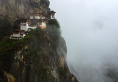 Takstang Monastery, Bhutan, also know as the Tiger's Nest