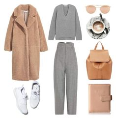 Unbenannt #1174 by fashionlandscape on Polyvore featuring Mode, Acne Studios, Jacquemus, Mansur Gavriel, Kenneth Cole Reaction and Ray-Ban
