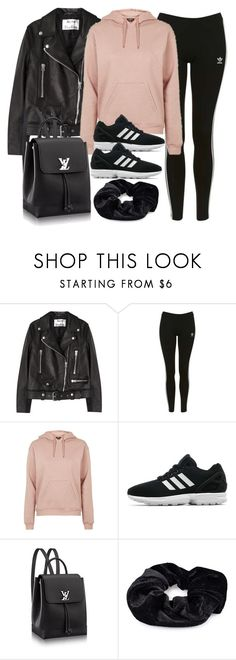 """Style #11600"" by vany-alvarado ❤ liked on Polyvore featuring Acne Studios, Topshop, adidas Originals and Pieces"