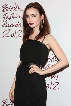 Lily Collins - fabulously brit