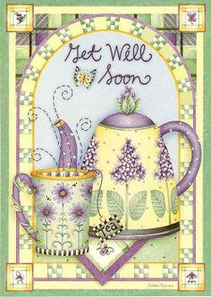 Arbetet Debbie Mumm (191 Verk) - Get well soon