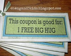 the best friend coupon book - Google Search