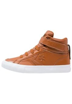 Converse - PRO BLAZE  - Sneakers hoog - antique sepia/white