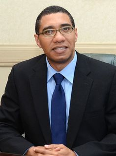 Andrew Holness 9th Prime Minister of Jamaica from October 2011 - January 2012, 74 days total.