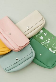 6258d6ca Pick your favorite color Leather toiletry bags from Keecie they come in 16  colors